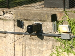 IVS-100 at Metra roadway