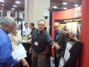 ASIS 2010 Firetide booth