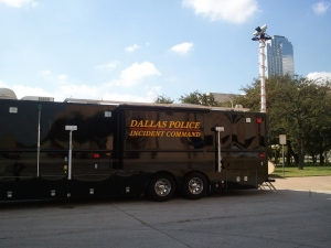 Dallas PD Mobile Command Center Equipped with Firetide Mesh
