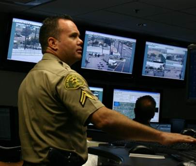 LASD Century Station Dispatch Center