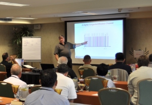 Our RF guru imparts his wisdom at an 2010 seminar