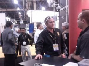 Firetide booth at ISC West 2011