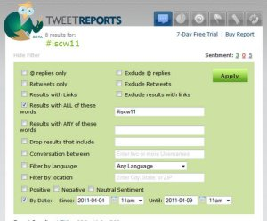 How to create Twitter transcript